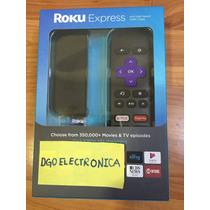 Roku Express Nuevo En Caja Sellada Envío Gratis Y Regalo 1m
