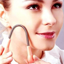 Solingen Muito Fácil Prático Depilador Facial Mola Inox