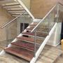Escaleras Barandas Pasamanos En Acero Inoxidable Cristal