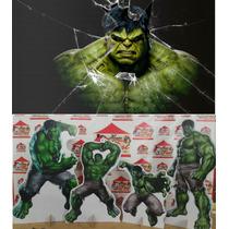Kit Display Hulk 8 Peças + Painel 2x1,40. Mdf. Toten