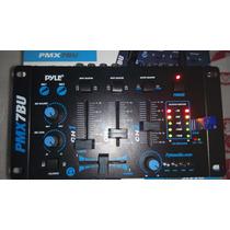 Mezclador Pyle 3 Canales Con Bluetooth Y Puerto Usb
