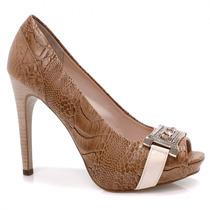 Sapato Jorge Bischoff Peep Toe J30084055   Zariff