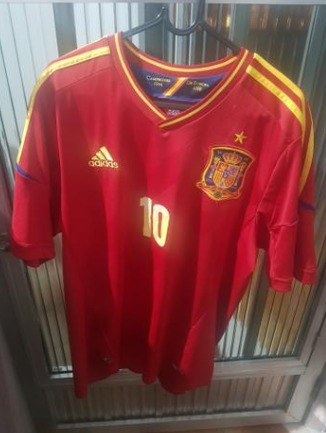 Camisa Da Espanha Home 2012 - R  120 4f647fd57de8d