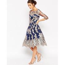 Vestido De Fiesta - Eventos - Matrimonios Talla Xs