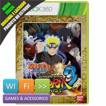 Naruto Ultimate Ninja Storm 3 Full Burst Xbox 360 Lacrado