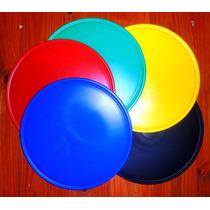 Tablas Para Pizza Polipropileno Vs. Colores 6 Und $ 150
