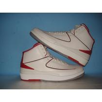Nba Air Jordan Retro Ii White Varsity Red 27.5mex 2014