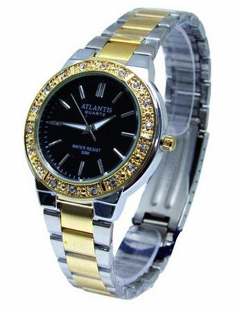 73ea6d8ab9d Relógio Feminino Dourado Original Barato A Prova D água - R  120