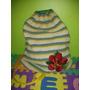 Bolso Cartera Tejido Crochet Con Aplique