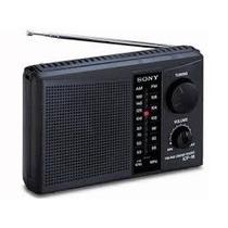 Radio Sony Icf-18 Am/fm Pilhas Portatil