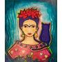 Cuadros Pintura De Frida Kahlo. Grande Super Oferta!