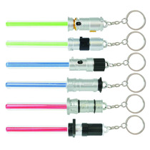 Chaveiro Star Wars Sabre De Luz Lightsabers Led