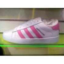 Zapatos Gomas Adidas Super Star Para Damas