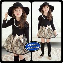 Vestido Hermoso Casual Niña Moda + Sombrero Fedora + Medias