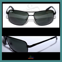 Óculos De Sol Rb3281 Lentes Escuras, Frete Grátis+ Brinde