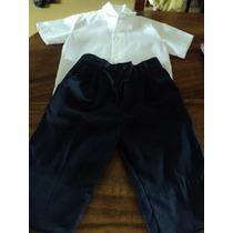 Conjunto De Niño De Vestir Para Bautizo Talla 3