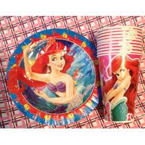 Sirenita Paquete Fiesta Infantil