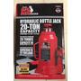 Gato Hidraulico Tipo Botella De 20 Toneladas Marca Big Red
