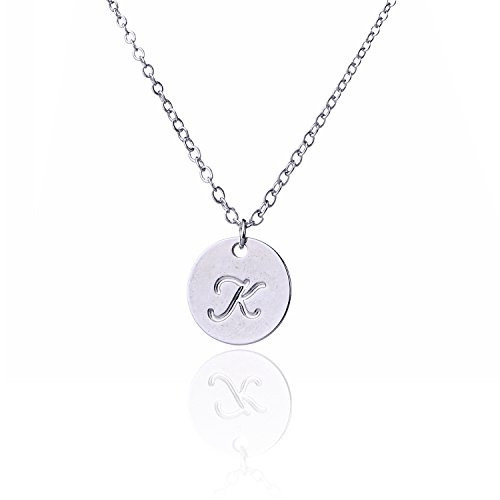 Aolo letter charm necklace necklace necklace initial k neck aolo letter charm necklace necklace necklace initial k neck 93400 en mercado libre aloadofball Image collections