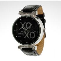 Reloj Para Mujer Dama Xoxo Relojes Originales Negro Nuevo