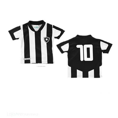 ede20384aa Camisa Oficial Infantil Do Botafogo + Brinde - R  69