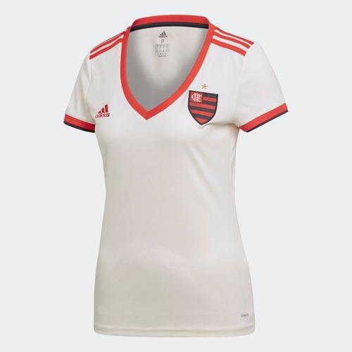 Camisa Flamengo adidas Feminina Oficial Frete Grátis 2018 19 - R ... ca51dbfd8ca74