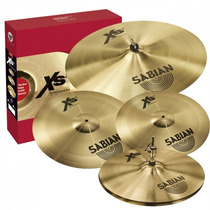 Kit Prato Sabian Xs20 500514 - Gratis Crash 14