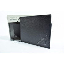 Cartera Perry Ellis Caballero 100 % Original Negra