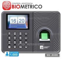 Control De Asistencia Biometrico Empleados Capta Huella 1000