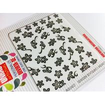 Lindos Adesivos Decorativos Para Unhas Flores Com Strass