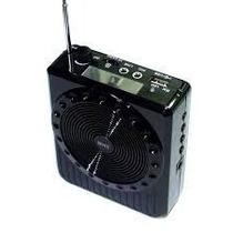 Microfone Megafone Digital Palestras Amplificador De Voz