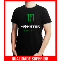Camiseta Personalizada Monster Energy