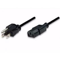 Cable Energia Ups Cpu A Corriente Computadora Pc Monitor