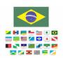 1 Bandeira Estado Brasileiro Brasil Tenho Todos 27 Estados