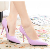 Zapatos De Tacon Sexys Diversos Colores Todos En Talla 36