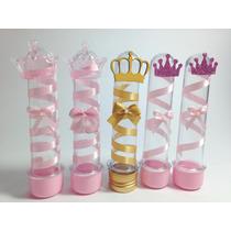 Tubos Golosineros Princesas Reinas Souvenir 15 Años