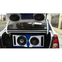 Cajas Acusticas Carro Sonido Bajos Parlantes Radios Diseños