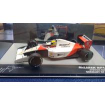 Miniatura Mclaren Mp4/6 Ayrton Senna Germany Gp 1991