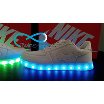 Zapatos Nike Air Force One Luces Led Importados
