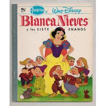 Librocomic Alegrías Walt Disney #1 Blanca Nieves Novaro 1982
