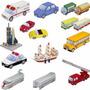 Maquetes De Papel 3d - Mais De 50 Ítens Para Uma Mini Cidade