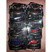 Carros Batman Vs Superman Coleccion De 6 Carros De Pelicula