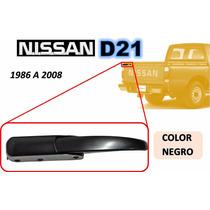 86-08 Nissan Camioneta Gancho Tapa Trasera Negro Izquierdo
