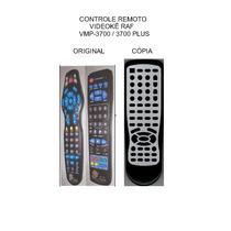 Controle Videoke Raf Electronics Vmp-3700 Vmp-3700 Plus