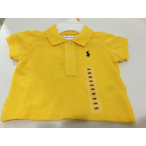 Camisa Gola Polo Infantil Ralph Lauren 3 Meses Original