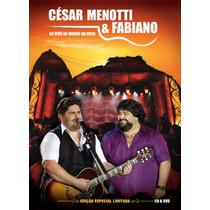 Cd + Dvd César Menotti E Fabiano - Ao Vivo No Morro Da Urca