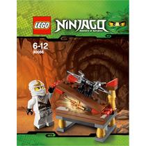 Lego Ninjago 30086 Ninja Blanco Y Armas - Polybag