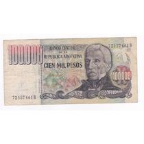Ltb016. Cien Mil Pesos Ley 18.188 De 1980.