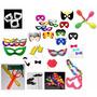Combo Hora Loca 200 Artículos Mascaras Fiesta Boda 15 Años
