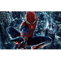 Painel Decorativo Festa Homem Aranha Spider 1x1,5m - (ho04)